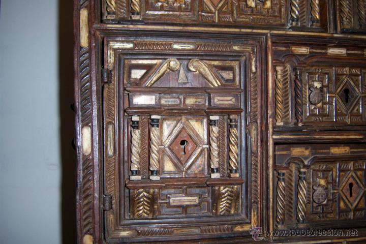 Antigüedades: Bargueño salmantino del S XVII. - Foto 3 - 46019004