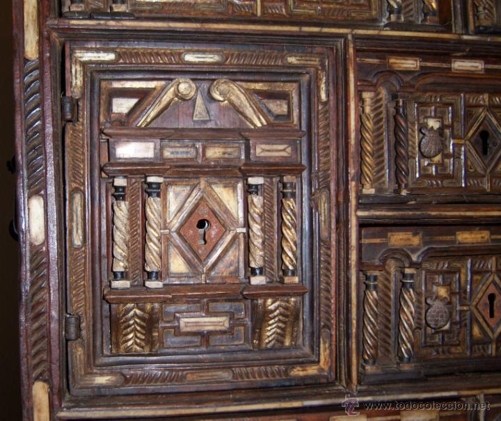 Antigüedades: Bargueño salmantino del S XVII. - Foto 4 - 46019004