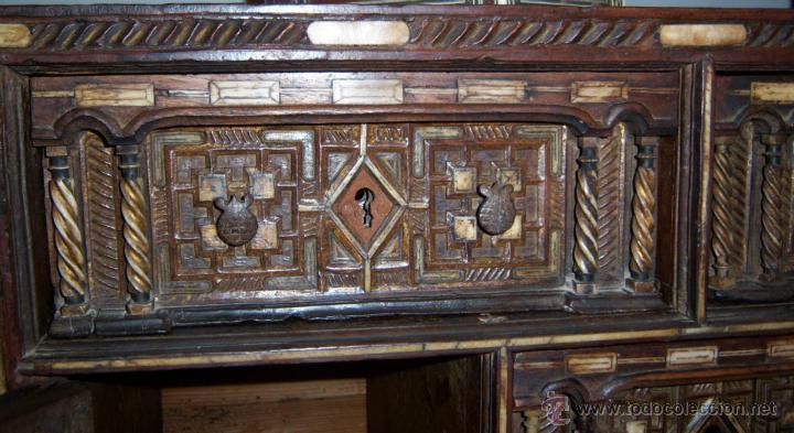 Antigüedades: Bargueño salmantino del S XVII. - Foto 7 - 46019004
