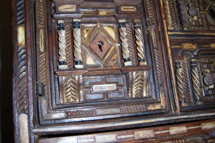 Antigüedades: Bargueño salmantino del S XVII. - Foto 8 - 46019004