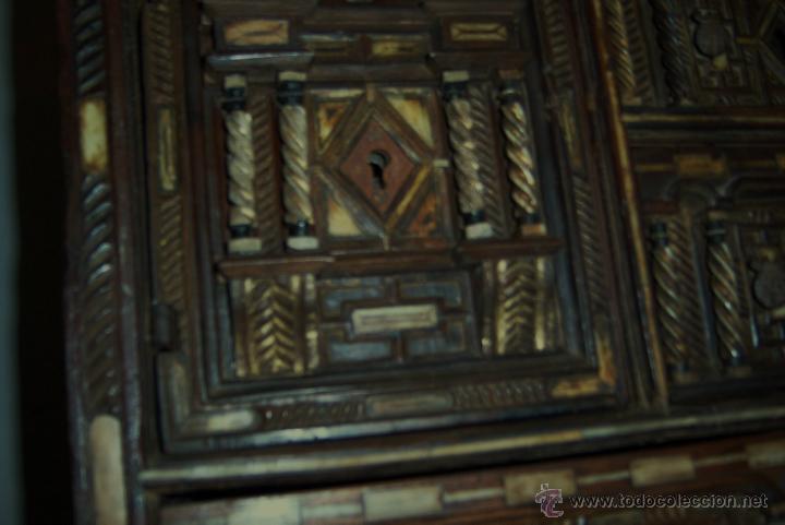 Antigüedades: Bargueño salmantino del S XVII. - Foto 9 - 46019004