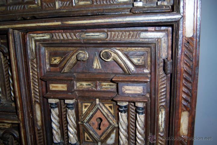 Antigüedades: Bargueño salmantino del S XVII. - Foto 14 - 46019004