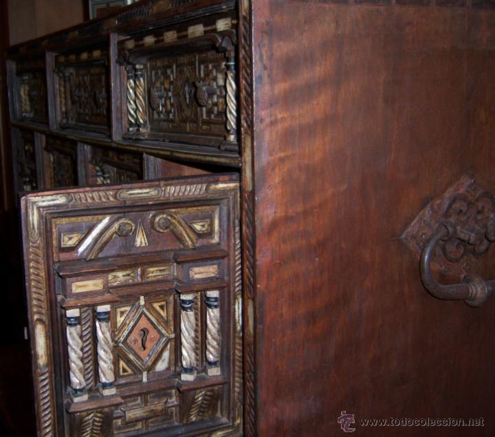 Antigüedades: Bargueño salmantino del S XVII. - Foto 16 - 46019004