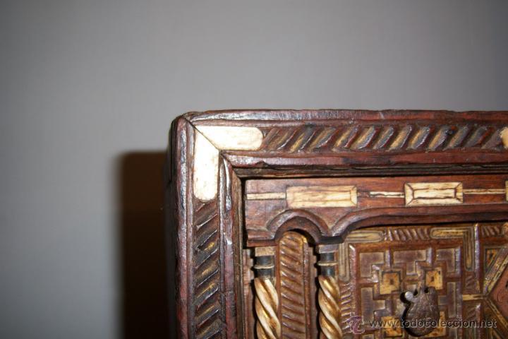 Antigüedades: Bargueño salmantino del S XVII. - Foto 21 - 46019004