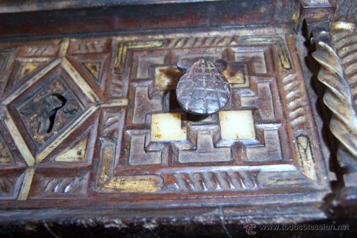 Antigüedades: Bargueño salmantino del S XVII. - Foto 28 - 46019004