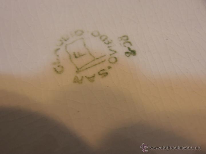 Antigüedades: sello de la bandeja de la salsera - Foto 10 - 46029091