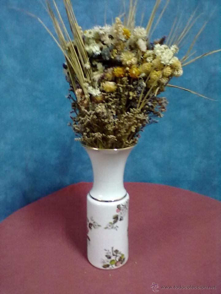 JARRON PORCELANA HISPANIA (Antigüedades - Porcelanas y Cerámicas - Manises)
