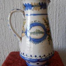 Antigüedades: JARRA DE TALAVERA ANTIGUA. Lote 46043012