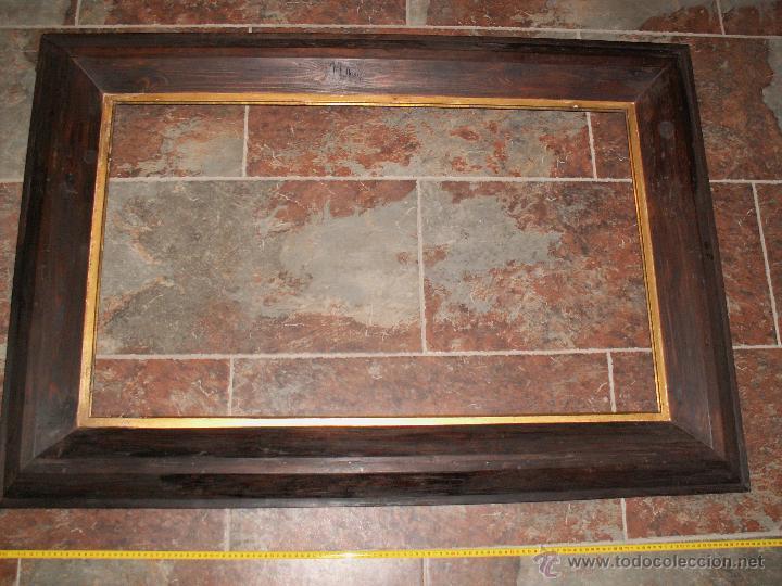 marco de grandes dimensiones 1900s restaurado antigedades hogar y decoracin marcos antiguos - Cuadros Grandes Dimensiones