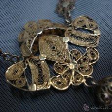 Antigüedades: ROSARIO DE FILIGRANA CORDOBESA SXIX EN PLATA.. Lote 46060861