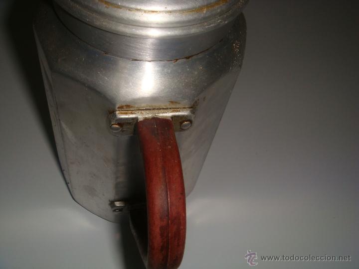 Antigüedades: CAFETERA HISPANO/SUIZA DE ALUMINIO - Foto 2 - 46065643