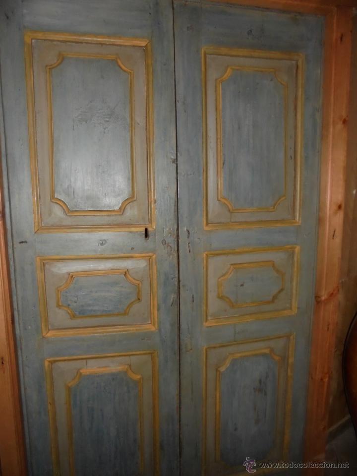 Antigüedades: Puerta policromada del SVIII. - Foto 6 - 46076447