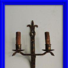 Antigüedades: APLIQUE DE FORJA ANTIGUA. Lote 41458862