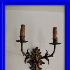 Antigüedades: APLIQUE DE FORJA ANTIGUA. Lote 41458875