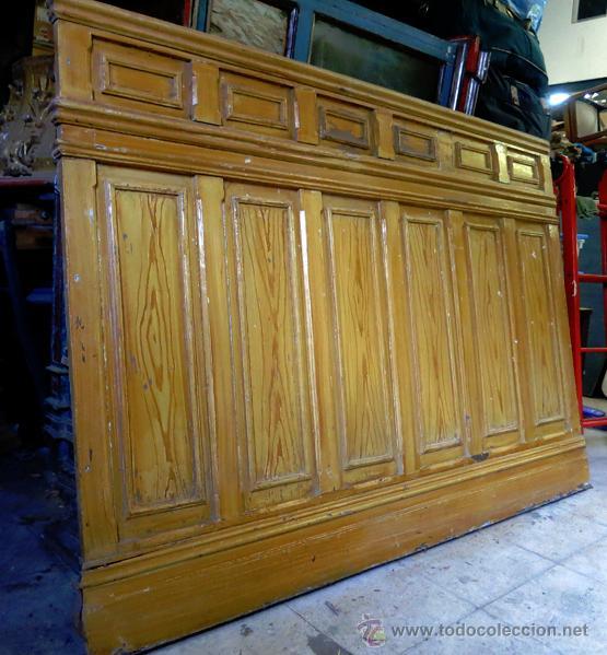 friso pertenece a boiserie final s.xix madera p - Comprar en ...