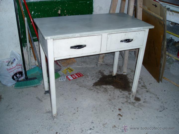 Mesa de cocina antigua - Vendido en Venta Directa - 46088789