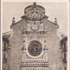 Antigüedades: MONTSERRAT FACHADA DE LA BASÍLICA FOT. RIPOL. Lote 46096109