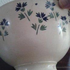 Antigüedades: CUENCO O TAZÓN MUY ANTIGUO. Lote 46109381