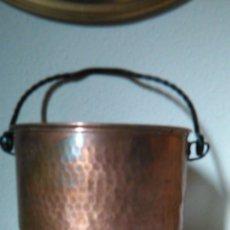 Antigüedades: POTE DE COBRE. Lote 46109932