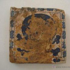 Antigüedades: AZULEJO GÓTICO CATALAN. Lote 46120316