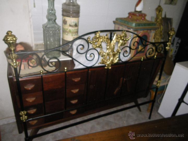 Cabeceros cama antiguos elegant fabulous com cabeceros - Camas de forja antiguas ...