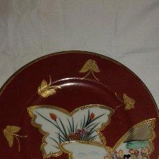 Antigüedades: PLATOS DE CERAMICA JAPONESA IMARI. Lote 46107975