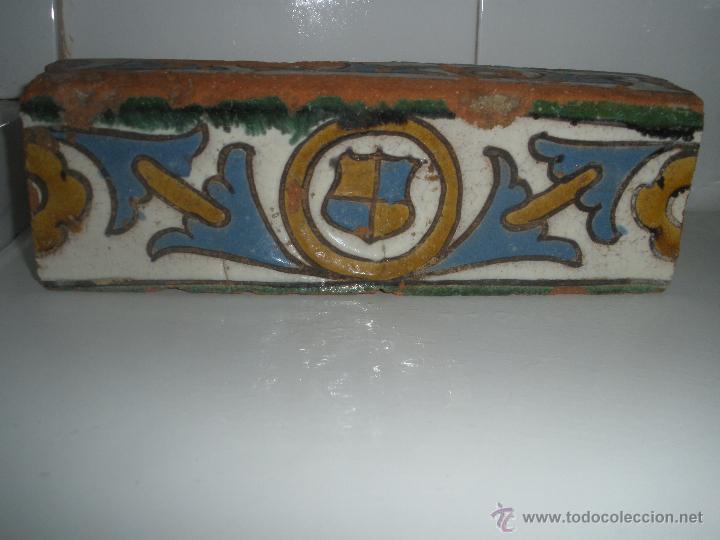 Antiguo azulejo alizar de toledo ceramica cue comprar - Antiguedades en toledo ...