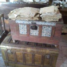 Antigüedades: LOTE DOS ANTIGUOS BAÚLES. Lote 46138989