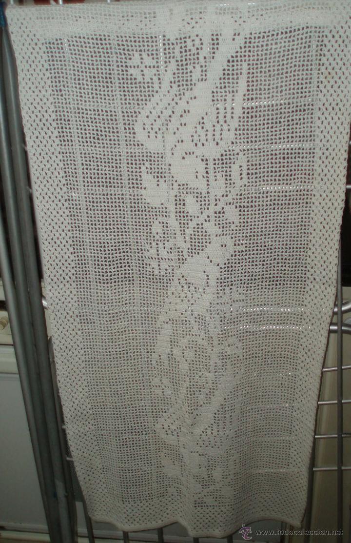 Dos cortinas a ganchillo de los a os 70 dibujo comprar for Cortinas ganchillo