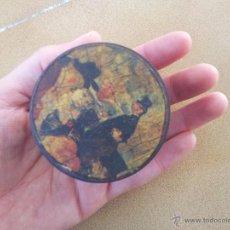 Antigüedades: CAJITA DE MADERA PINTADA. Lote 46149539