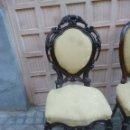 Antigüedades: SILLA DE ESTILO, TALLADA . Lote 46153547