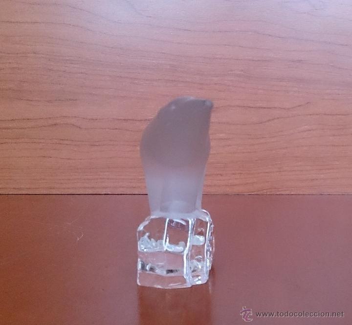 Antigüedades: Oso polar en cristal mate y brillante . - Foto 10 - 46156979