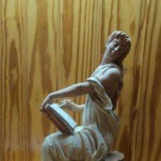 Antigüedades: ESCULTURA DE MIQUEL SENSERRICH. POESÍA. Lote 46157472