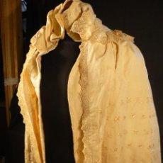 Antigüedades: VESTIDO DE BAUTIZO O DE CRISTIANAR SIGLO XVIII. Lote 46162986