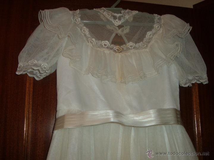 Antigüedades: Vestido de comunión - Foto 4 - 46170836