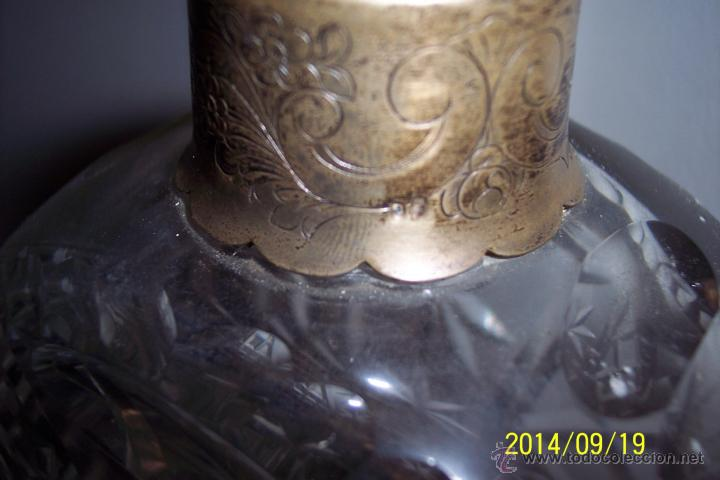 Antigüedades: MAGNIFICA LICORERA EN CRISTAL TALLADO - Foto 3 - 46186775