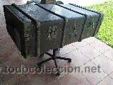 ANTIGUO BAUL-MALETA (Antigüedades - Muebles Antiguos - Baúles Antiguos)