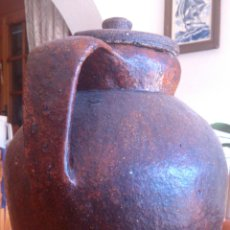 Antigüedades: JARRON BARRO. Lote 46188473
