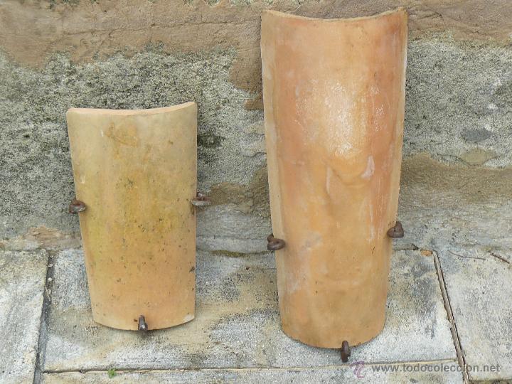 Apliques de exteriores rusticos 3 tejas y 2 bas comprar apliques antiguos en todocoleccion - Apliques de pared rusticos ...