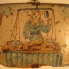 Antigüedades: AZULEJO CATALÁN OFICIOS.SIGLO XVIII. Lote 46205131