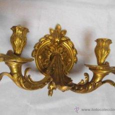 Antigüedades: FABULOSO APLIQUE DE BRONCE MODERNISTA . Lote 46209934
