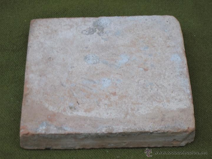 Antigüedades: AZULEJO ANTIGUO DE VALENCIA / ALCORA / MANISES - SIGLO XVIII. - Foto 4 - 46226666