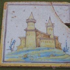 Antigüedades: AZULEJO ANTIGUO DE TALAVERA DE LA REINA ( TOLEDO ) - CERAMICA RUIZ DE LUNA.. Lote 52367129