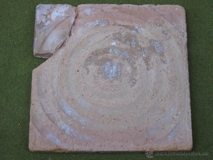Antigüedades: AZULEJO ANTIGUO DE TALAVERA DE LA REINA ( TOLEDO ) - CERAMICA RUIZ DE LUNA. - Foto 3 - 52367129