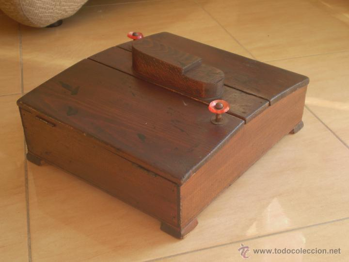 Antigua caja de limpiar madera artes comprar - Caja madera antigua ...