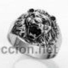 Antigüedades: SELLO CABEZA DE LEÓN EN PLATA DE LEY. Lote 54542081