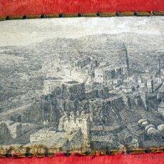 Antigüedades: GRANDIOSO TAPIZ ANTIGUO MÁLAGA EN EL SIGLO XVIII. Lote 46248395
