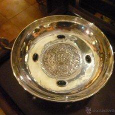 Antigüedades: FRUTERO CON PATAS PLATEADO. Lote 46298196