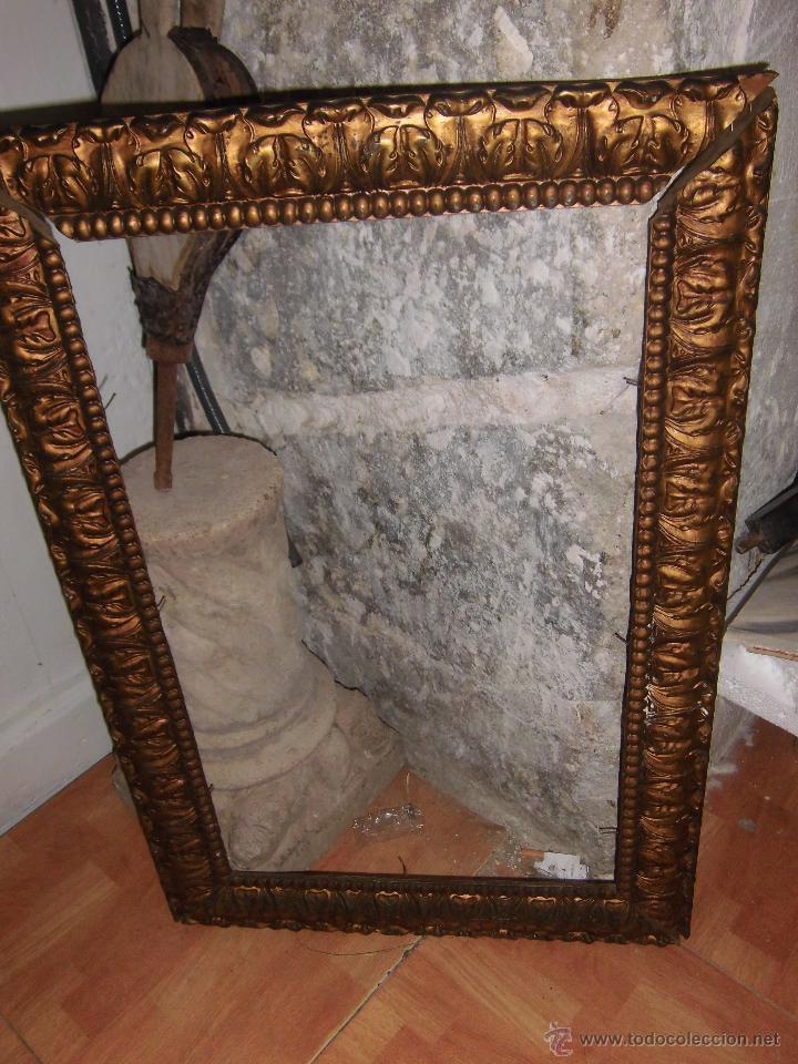 antiguo marco s xix dorado para pintura antig - Comprar Marcos ...