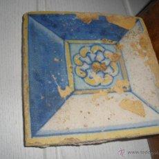 Antigüedades: AZULEJO SIGLO XVI TOLEDO - TALAVERA. Lote 46301186